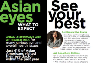 What to Expect: Asian Eyes Brochure, English