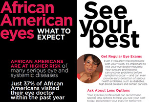 What to Expect: African American Eyes Brochure