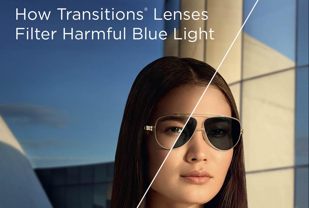 How Do <em>Transitions<sup>®</sup></em> Lenses Filter Blue Light?