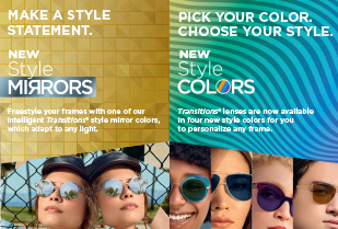 Style Colors + Style Mirrors Insert