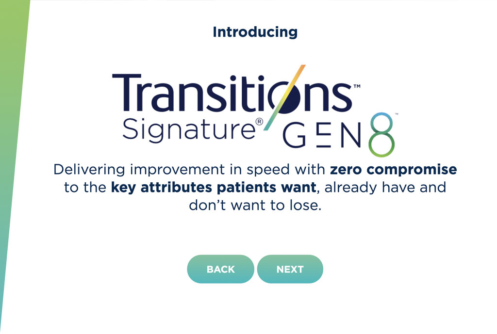Transitions Signature GEN 8™ Online Training