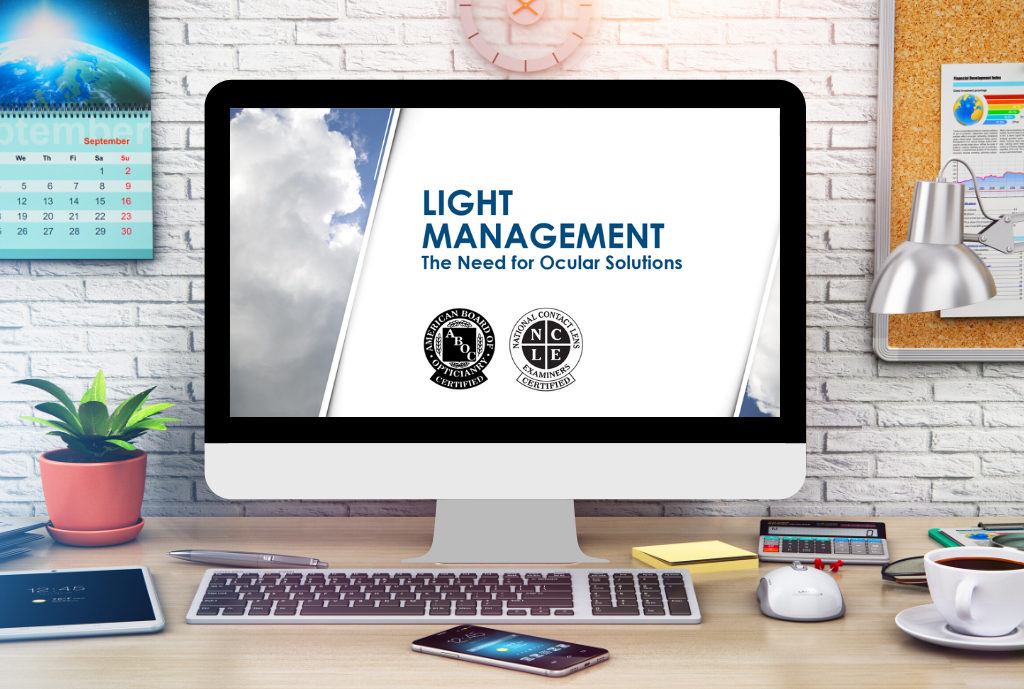 Light Management: The Need for Ocular Solutions ABO Course